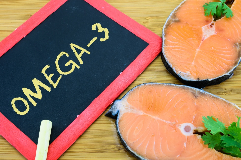 omega-3 or DHA is a fatty acid which is a primary structural component of the human brain